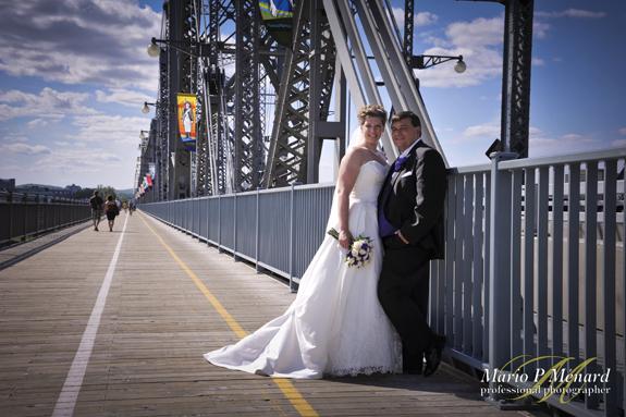 Alexandra Bridge Ottawa Wedding