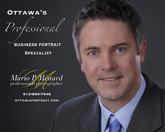 Ottawa business portrait headshot specialist photographer