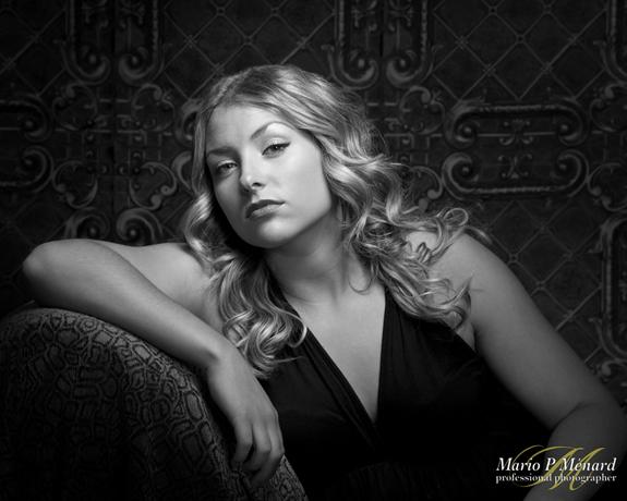 Black & white, portrait, ottawa, glamour, B&W,