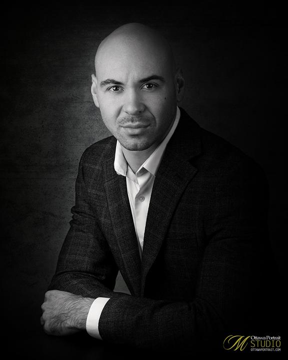 Ottawa photographer, Mario P. Menard Ottawa Portrait Studio