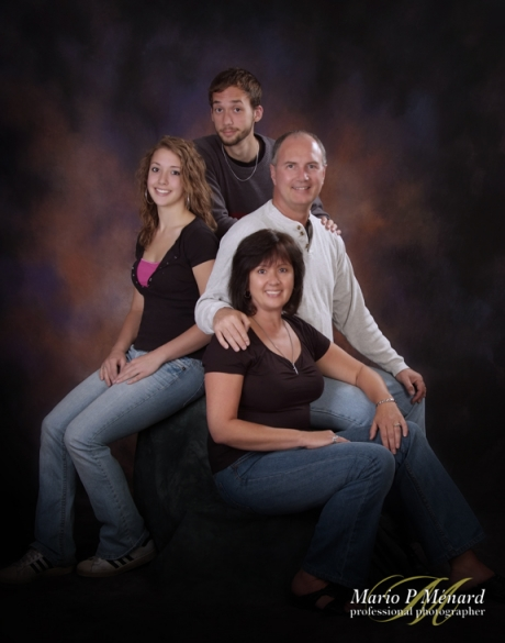 Family portrait ottawa studio